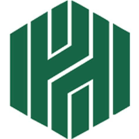 huntington huntington bank logo corporate identity intricate geometry