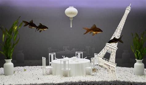 creative decoration ideas  aquarium  room