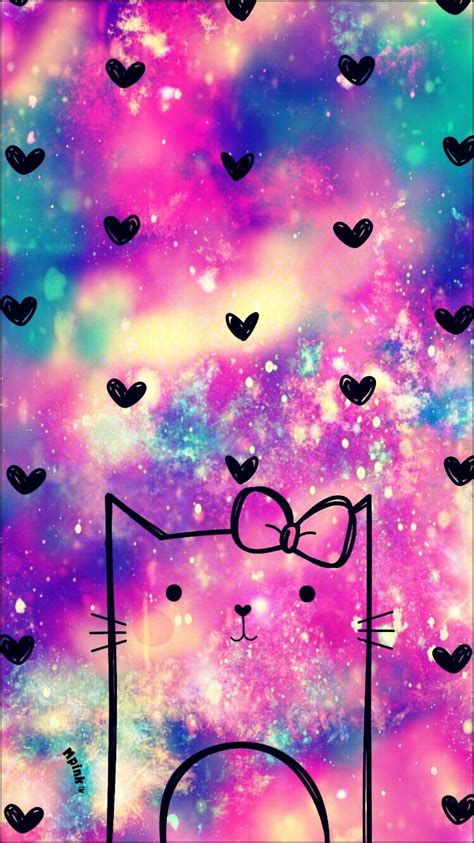 imagenes kawaii galaxia kawaii kitty galaxy wallpaper ᗯᗩᒪᒪᑭᗩᑭeᖇ ᑕᖇeᗩtioᑎᔕ