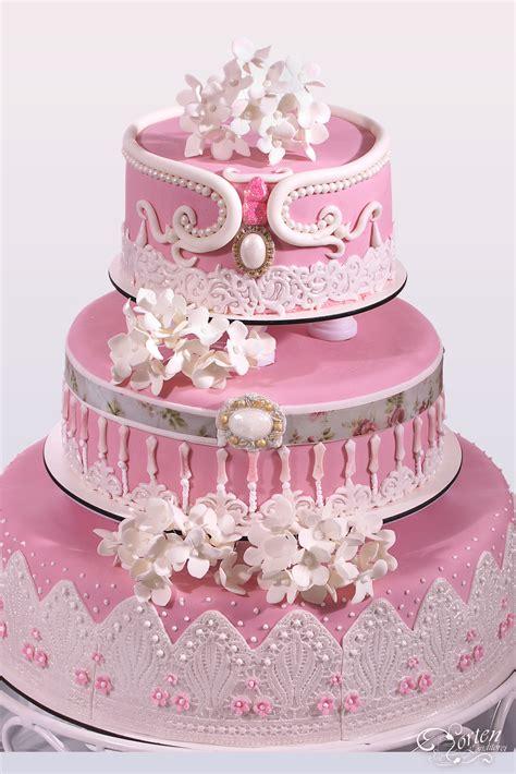 Hochzeitstorte Pink by Hochzeitstorten Schlidt De Hochzeitstorten