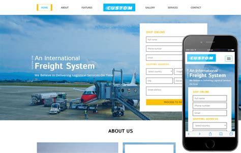 custom category template custom a transportation category bootstrap responsive web