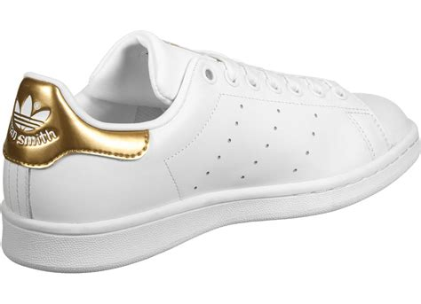 adidas stan smith w shoes white gold weare shop