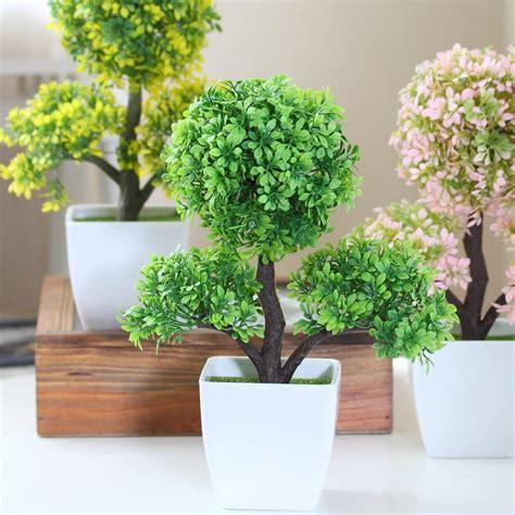 plants decoration at home hyson shop home decoration artificial bonsai pot planter