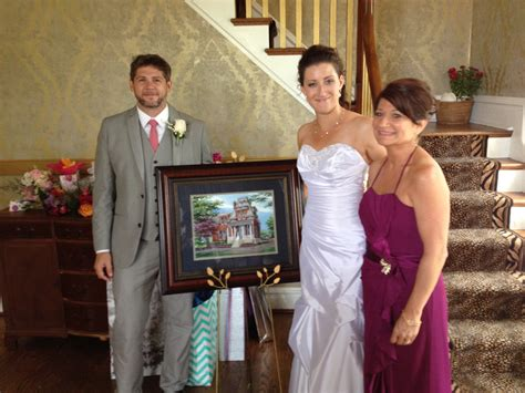 cabanne house portrait of cabanne house presented to bride and groom custom house portraits by