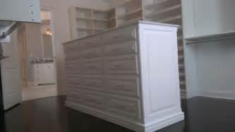 master closet island dresser