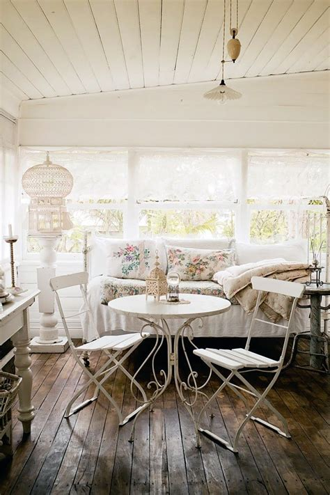 country style bistro sweet vintage looking back porch room the white