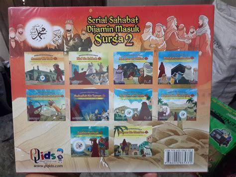 Serial Buku Anak Kisah 10 Sahabat Nabi Yang Dijamin Masuk Surga buku anak serial sahabat dijamin masuk surga seri 2 toko