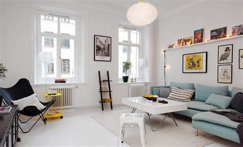 scandinavian apartment small scandinavian apartment is big on impressions