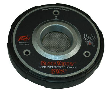 Mixer Black Widow 16ch peavey bwx sps magnet structure black widow speaker