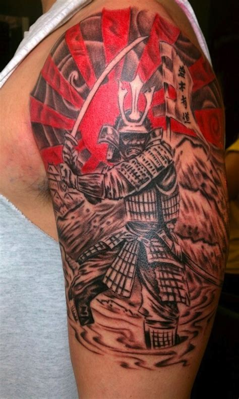 tattoo oriental hombro 50 samurai warriors tattoos ideas and meanings
