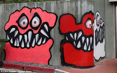 Wall Murals City chris brown s monstery house graffiti as art and other