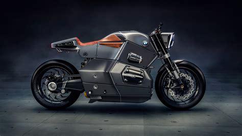 hayalet ucak tasarimindan ilham alan konsept motosiklet
