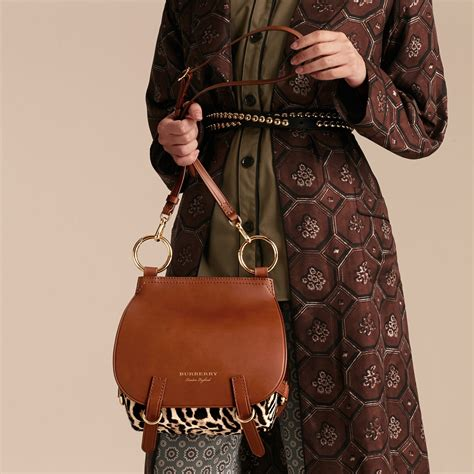 Burberry 2008 Handbags Runway Review by The Bridle Bag In Leopard Print Calfskin And Leather In