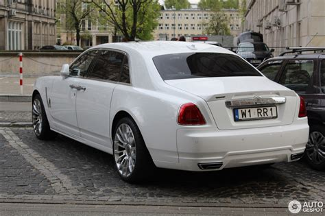 rolls royce white rolls royce mansory white ghost ewb limited 27 april