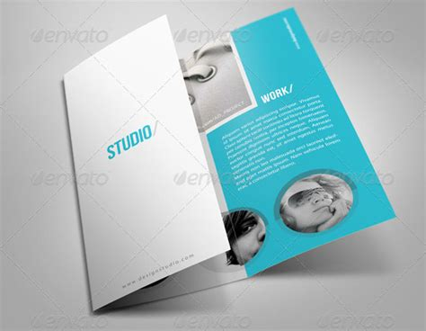 33 creative tri fold brochure templates psd indesign