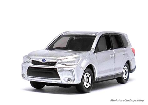 Tomica Reguler No112 Subaru Forester Silver Miniaturecardays 2013年11月