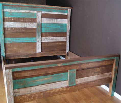 beach style beds shabby chic reclaimed queen bed set rustic headboard