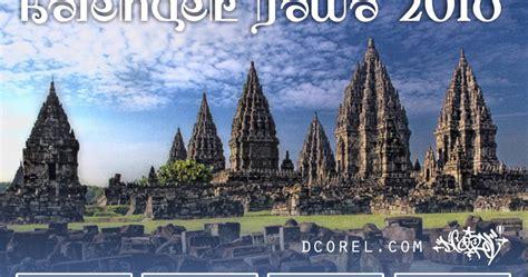 Kalender 2018 Jawa Cdr Kalender Jawa 2018 Template Cdr File Design Corel