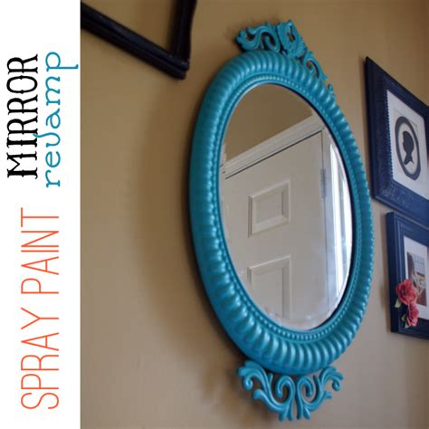 spray paint mirror how to update decor with spray paint