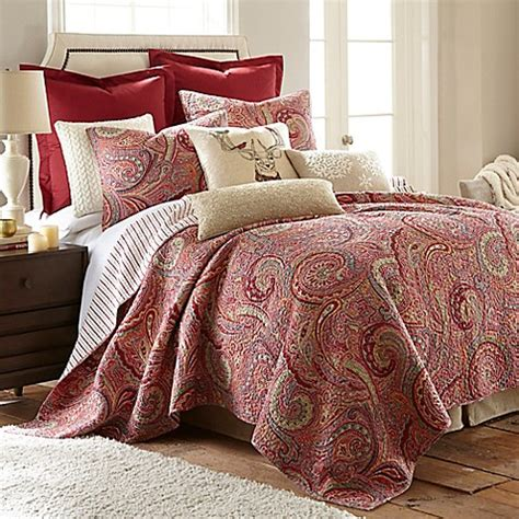 avery comforter ralph lauren levtex home avery reversible quilt set bed bath beyond