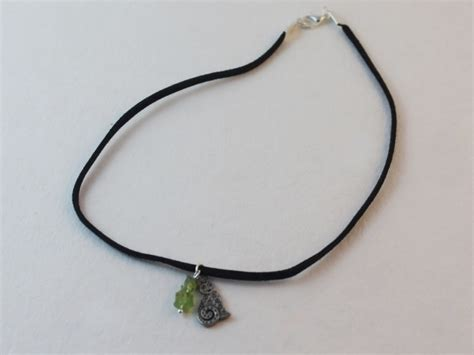 how to make a choker necklace with how to make a black suede choker diy jewelry hub