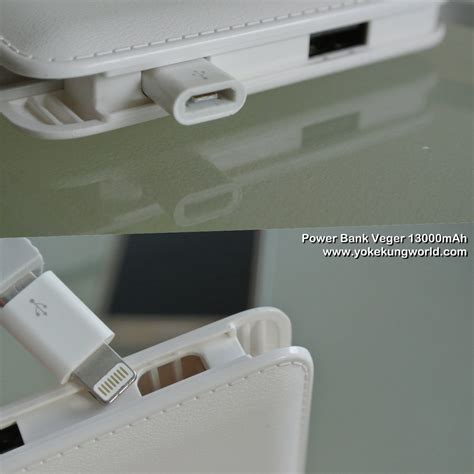 Power Bank Veger 12000mah veger power bank 13000mah 6 yokekung world
