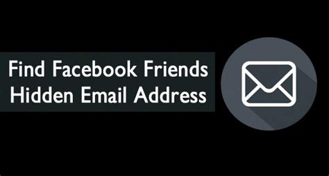 Search Fb Friends By Email How To Find Friends Email Address
