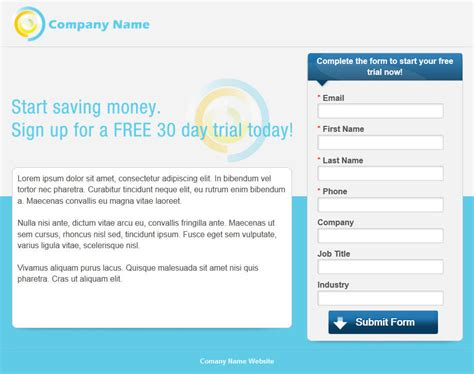 New Build Landing Pages Manage Leads With Wordstream Ppc Landing Page Templates