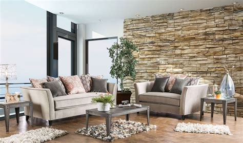 light grey living room furniture chantal light gray living room set from furniture of
