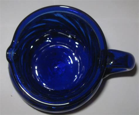 vintage blown glass ls antique vintage cobalt blue hand blown crafted art glass