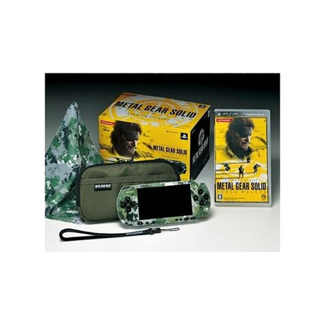 Po Import Console Psp Metal Gear Solid Peace Walker Premium buy psp 3000 metal gear solid peace walker premium package brand new psp japanese import