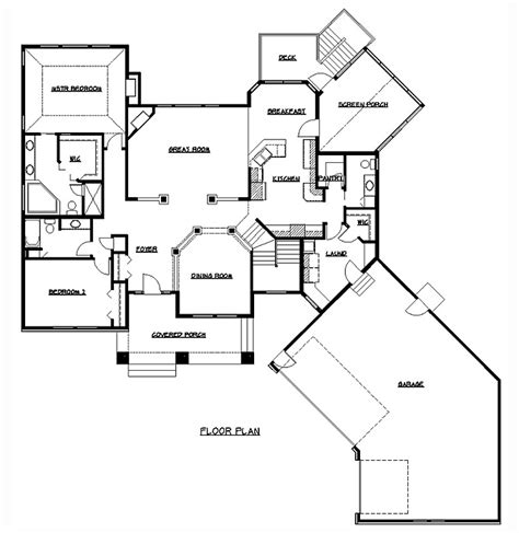 homes floor plans with pictures rambler floor plans plan 200318 tjb homes