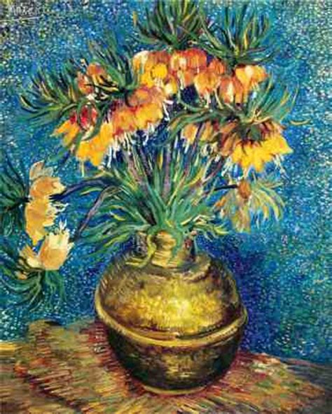 Gogh Vase Of Flowers by Flowers In A Vase Gogh