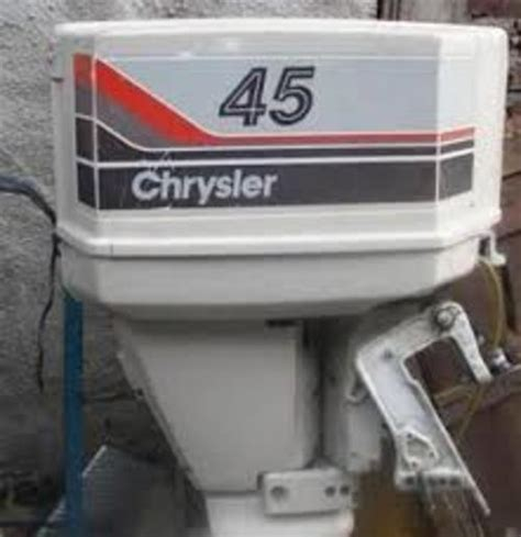chrysler outboard motor wiring diagram