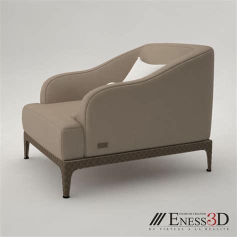 chic armchair pro rugiano oscar chic armchair 3d model max obj