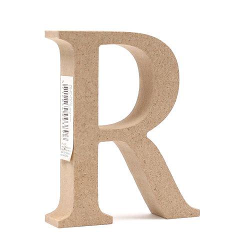 wooden letter k decor mdf wooden letter r 8 cm hobbycraft