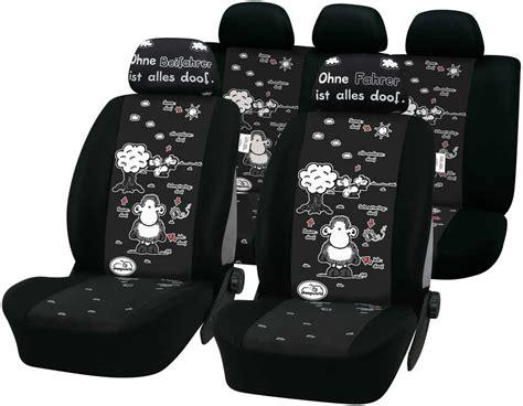 Sitzbez Ge Auto Ohne Dich Ist Alles Doof by Sheepworld Auto Schonbez 252 Ge Autositzbezug Schutzbezug Ebay