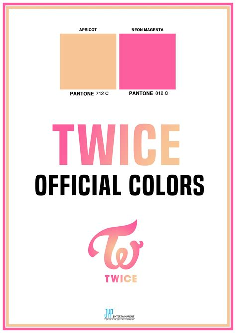 Peach Pantone by Twice Announces Their Official Group Colors Soompi