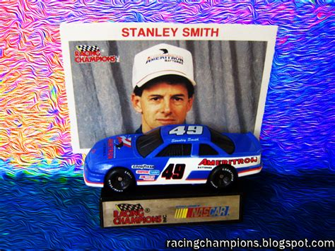 smith stanley nascar racing chions stanley smith 49 ameritron