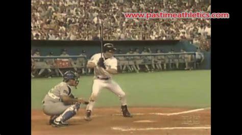 slow motion softball swing jeff bagwell slow motion home run baseball swing hitting