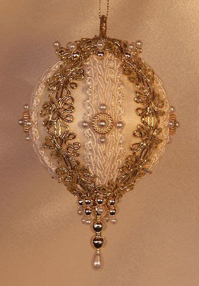 handmade  world victorian heirloom beaded christmas