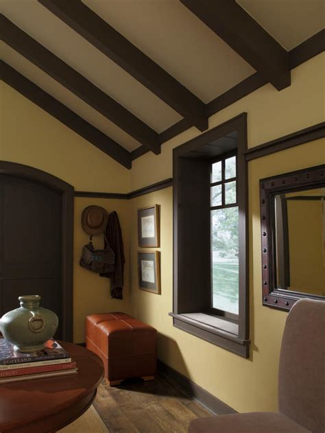 Craftsman Style Windows Decor Design A Craftsman Living Room Hgtv
