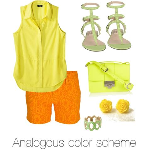 color combination for clothes analogous color scheme outfit www imgkid com the image