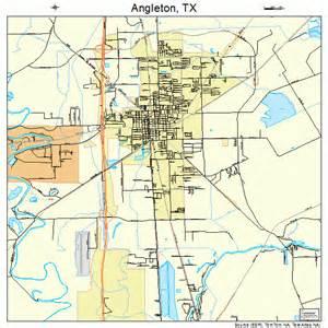 map of angleton angleton map 4803264