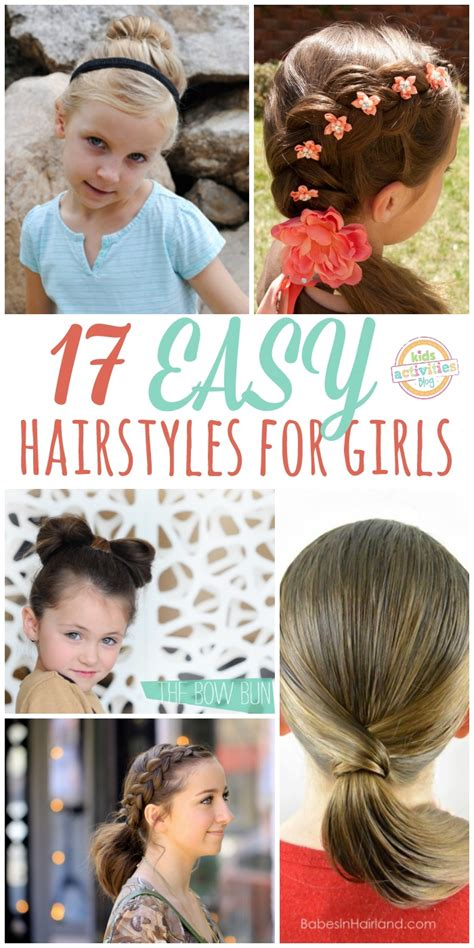hairstyles for school games 17 lazy hair ideas for girls