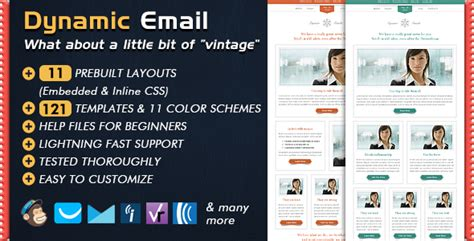 Dynamic Email Template By Bedros Themeforest Dynamic Html Email Templates