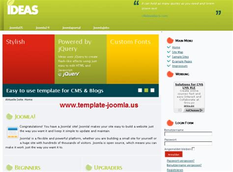 template joomla gratuit francais ideas template gratuit pour joomla 1 7 2 5