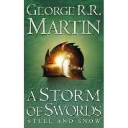 libro a storm of swords el ultimo libro que leiste