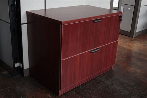 cherry lateral file cabinet 2 drawer warren series 2 drawer 36 quot laminate lateral file cabinet