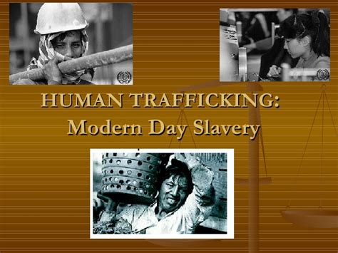 modern day slavery human human trafficking modern day slavery